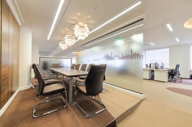 Приз зрителоьских симпатий: офис компании Ferrero, Москва. Авторы: LINE Architects