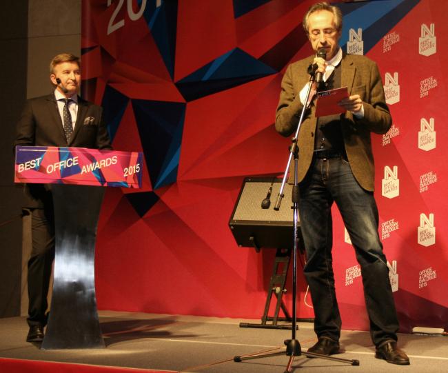 Сергей Чобан, руководящий партнер архитектурного объединения SPEECH. Фотография Татьяны Пашинцевой