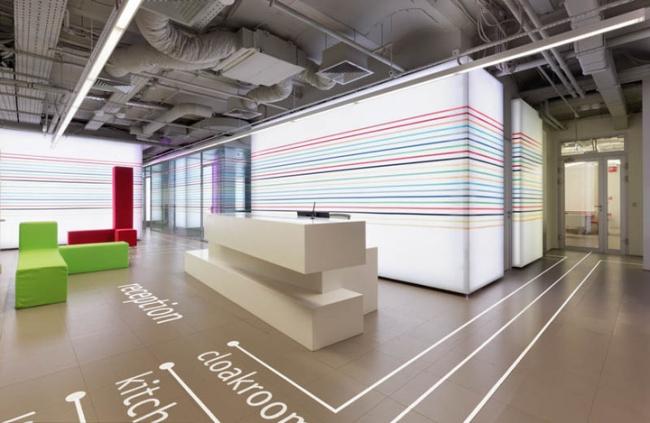 Номинация «Светодизайн. Publicis Groupe. Авторы: архитектурное бюро VOX Architects