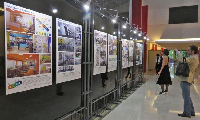 Выставка дизайн-проектов новых пространств «Росатома». Фотография Татьяны Пашинцевой