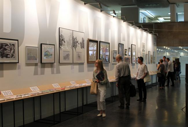 «Архив современной архитектуры», кураторский проект Барта Голдхорна. Фотография © Юлия Тарабарина, Архи.ру