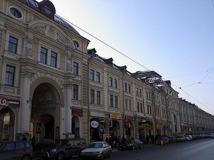 Реконструкция Апраксина двора