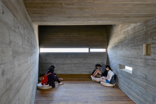 Прибрежная библиотека. Фото: He Bin © Vector Architects