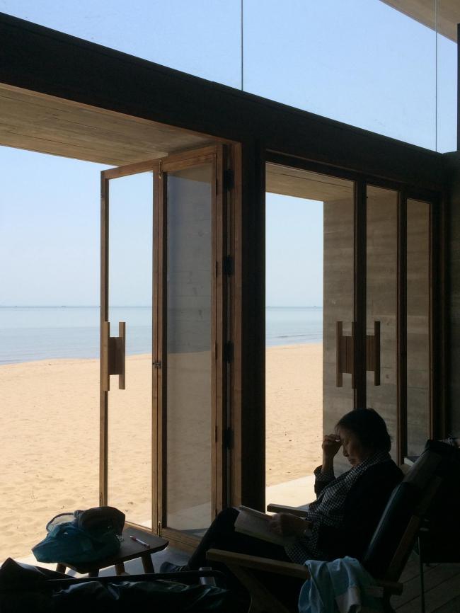 Прибрежная библиотека. Фото: Sun Dongping © Vector Architects