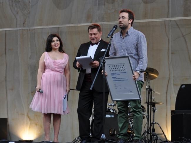Представитель Межрегионального института градостроительства. Фотография с сайта www.archmoscow.ru