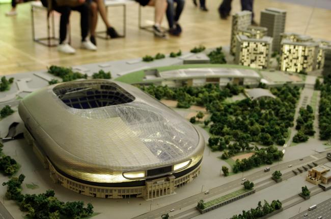 ВТБ Арена Парк. Фотография Аллы Павликовой