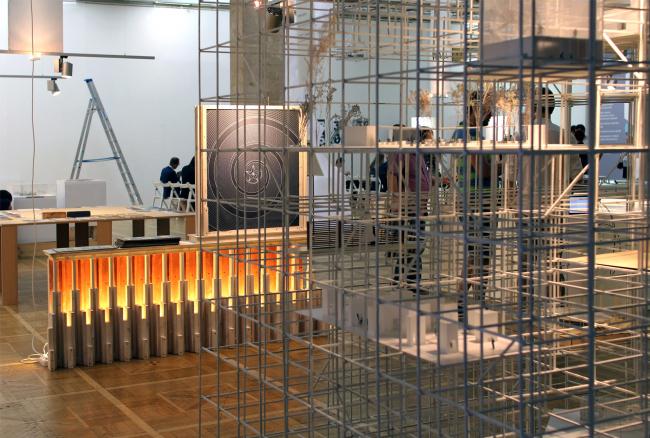Экспозиция проекта NEXT!  Фотография Юлии Тарабариной