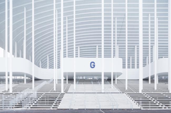 Новый стадион Бордо. Herzog & de Meuron © Iwan Baan