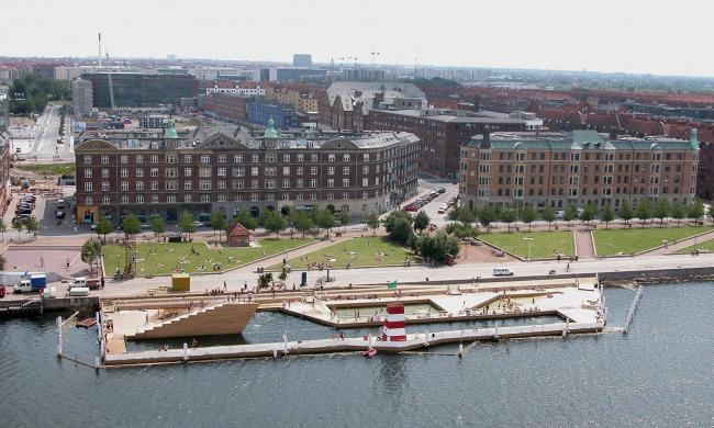 Бассейн в гавани Копенгагена. Фото предоставлено Кристоффером Вайссом