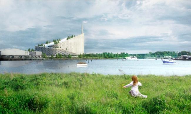 Проект мусороперерабатывающего завода  Amagerforbraending в Копенгагене бюро BIG. Фото предоставлено Кристоффером Вайссом