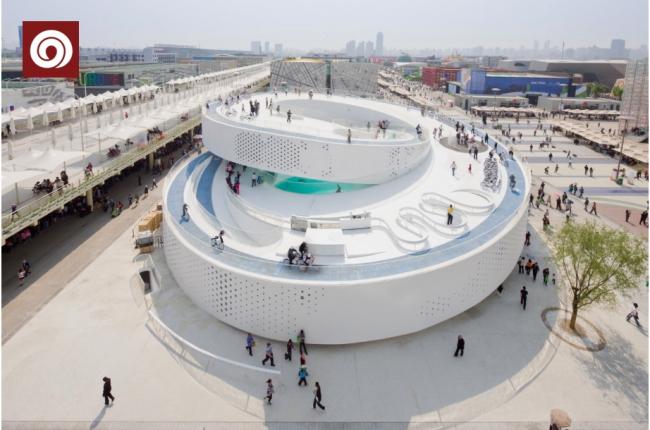 Датский павильон на Экспо-2010 в Шанхае бюро BIG. Фото предоставлено Кристоффером Вайссом