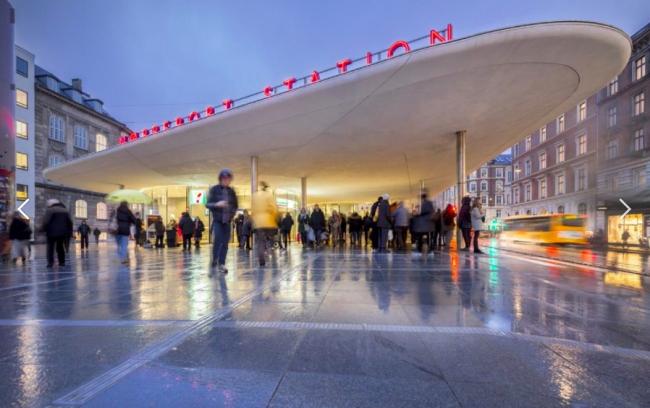 Новый вокзал Нёррепорт в Копенгагене. Бюро COBE. Фото предоставлено Кристоффером Вайссом