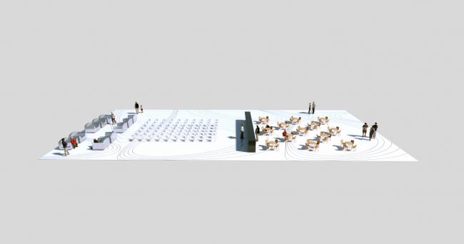 "Павильон ""Antiartplay"". Схема 3D © Алексей Пивень"