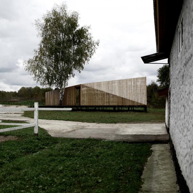 Летний павильон в селе Воздвиженское. Общий вид © Khachaturian Architects Фото: Артур Хачатурян