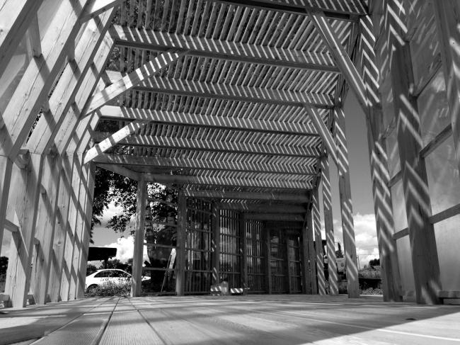 Летний павильон в селе Воздвиженское. Строительство ©  Khachaturian Architects Фото: Артур Хачатурян