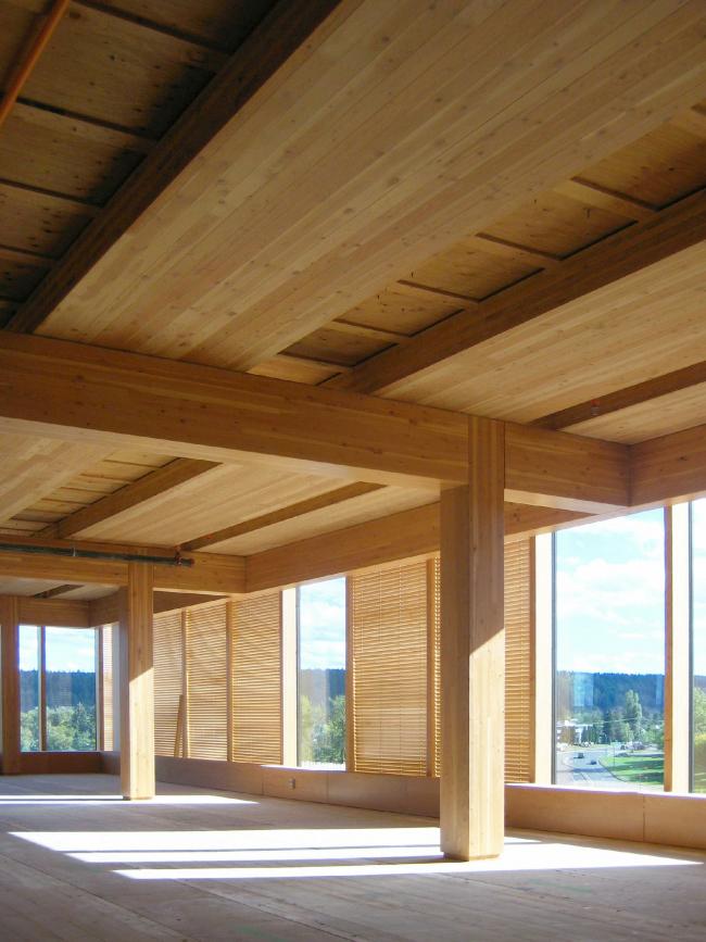 Центр инновационного проектирования из дерева. Фото: MGA