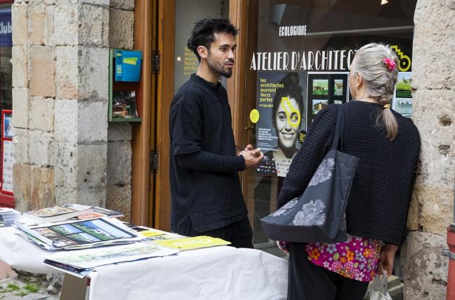 Дни открытых дверей 2014 года. Источник: portesouvertes.architectes.org