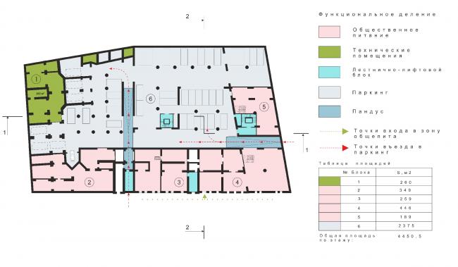 План подвального этажа © Arch Group