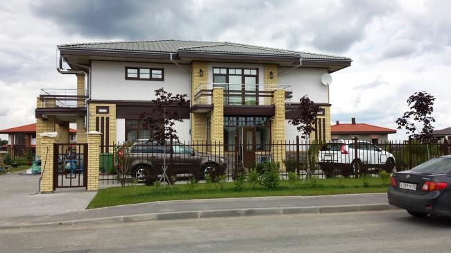 Коттеджный поселок «Онегин Парк». Фото предоставлено компанией Славдом
