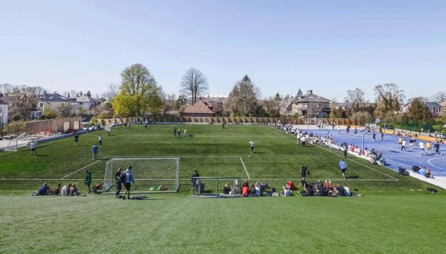 Гимназия Гаммель-Хеллеруп – новый корпус © Rasmus Hjortshøj