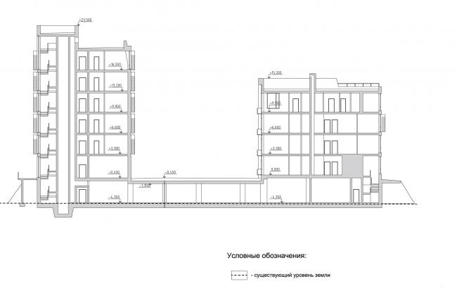 """Section view © """"Architecturium"""""""