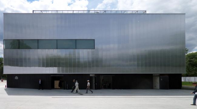 Facade of the museum. Photograph © Ilia Mukosey