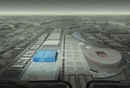 Национальный центр водных видов спорта. Проект