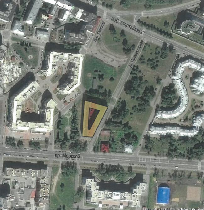 Location Plan © Eugene Gerasimov and Partners