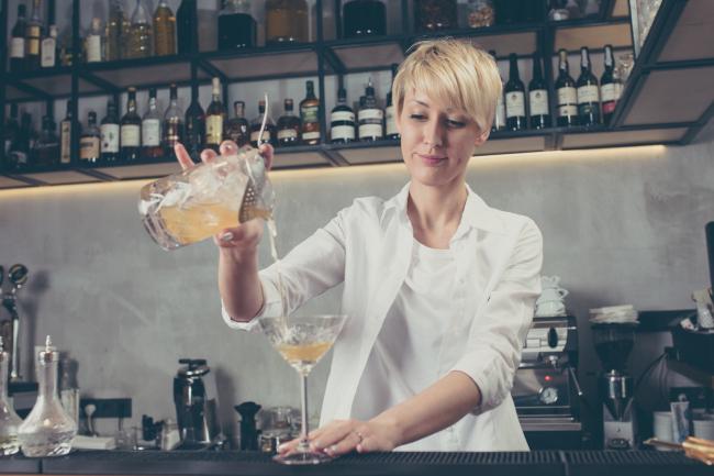 Елизавета Нехорошева – бармен ресторана Holy Fox © Holy Fox