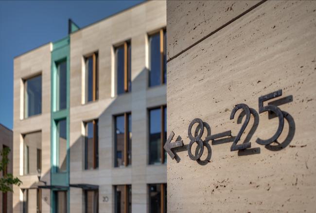Бизнес-центр Bank side в Наставническом переулке. Фотография © Мастерская ADM / Анатолий Шостак