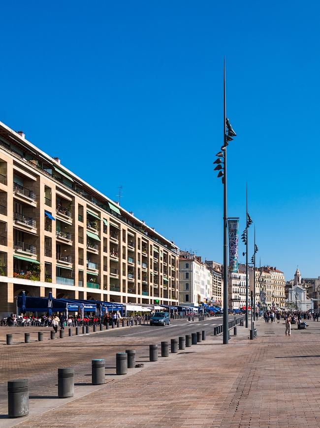 К 2013 году, когда Марсель был «культурной столицей Европы», набережная Старого порта была реконструирована © Василий Бабуров