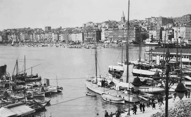 Старый город. Фото 1920-1930-х гг. © Musée d'Histoire de Marseille - cote MHM1995_10_0612_C
