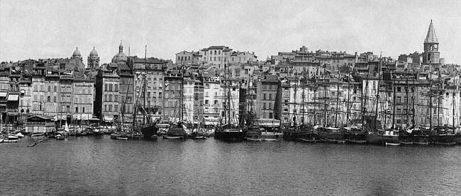 Набережная Старого порта. Фото нач. ХХ в. Изображение: http://desinroc.free.fr/vieux_quartier/image/Seq35006.jpg