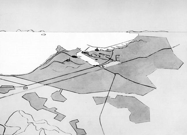 Старый город Марселя, каким его видел Ле Корбюзье. 1947 г.