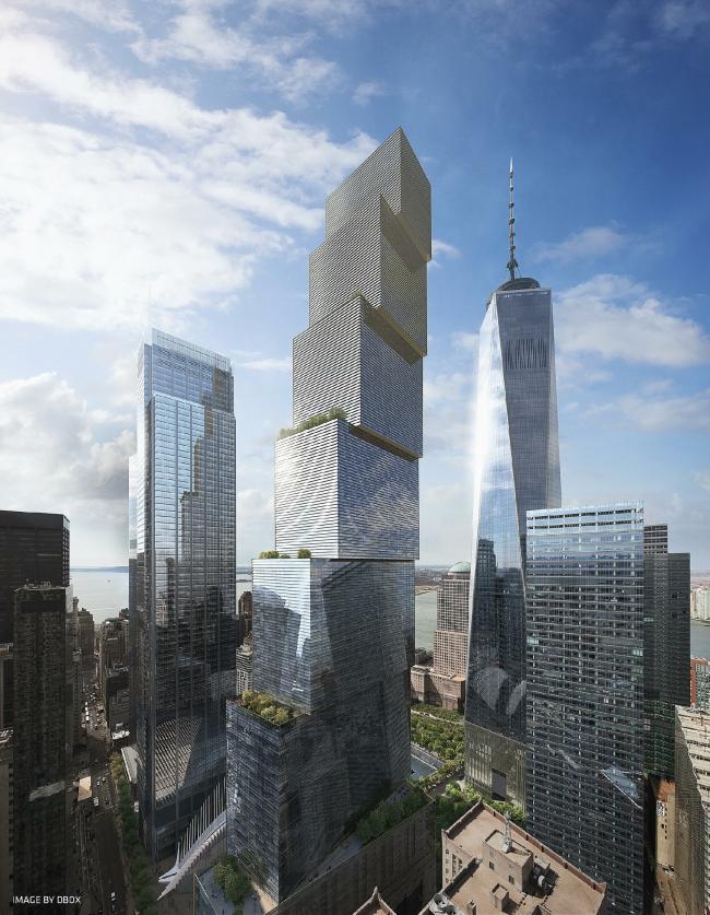 ВТЦ Башня 2 – проект BIG © DBOX