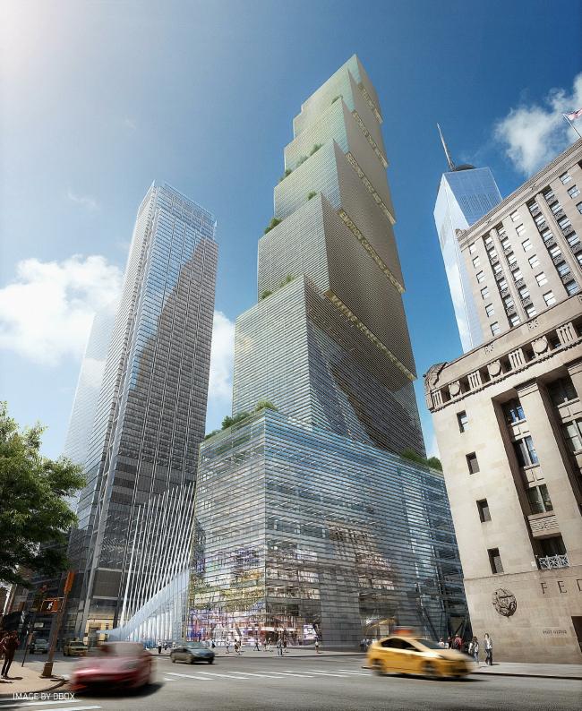 ВТЦ Башня 2–проект BIG