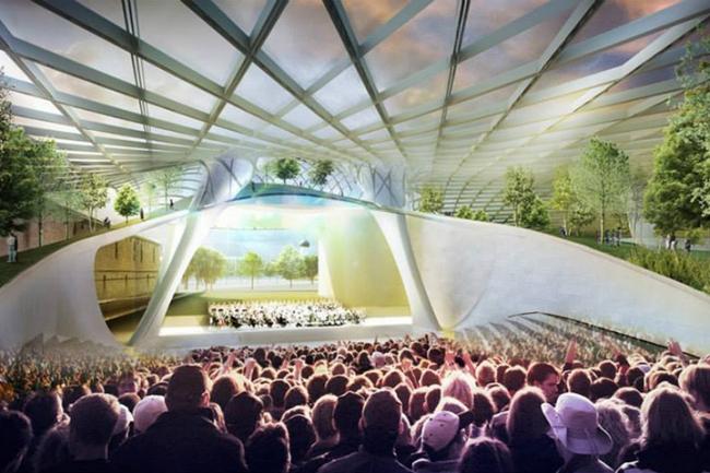 Стеклянный купол парка «Зарядье». Источник: dsrny.com