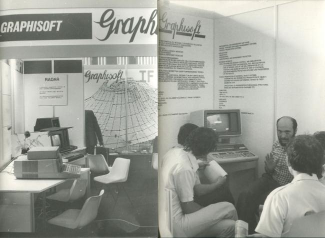 1982 год. История создания программы ARCHICAD. Источник: www.GRAPHISOFT.com