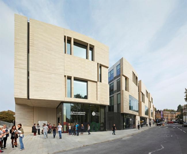 Кампус Гринвичского университета на Стоквелл-Стрит © Hufton + Crow