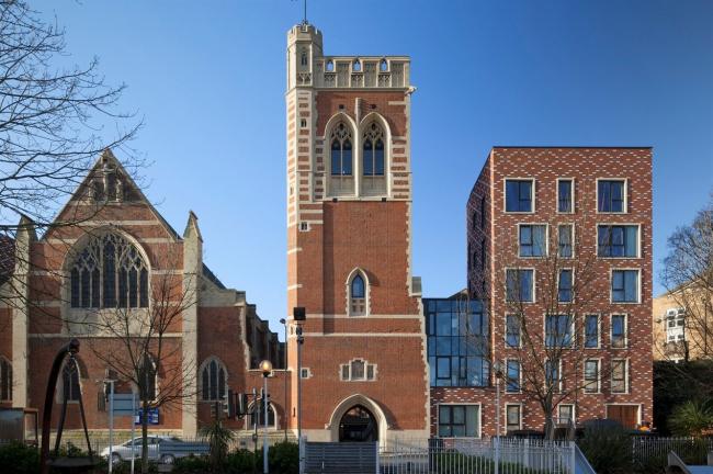 Три новых здания церкви Св. Марии © Mikael Schilling, Benedict Luxmoore, Patricia Woodward