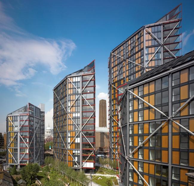 Жилой комплекс NEO Bankside © Edmund Sumner, Philip Durrant & Nick Guttridge