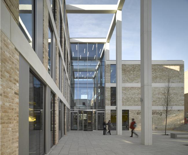 Инженерный факультет Университета Ланкастера © Nick Guttridge