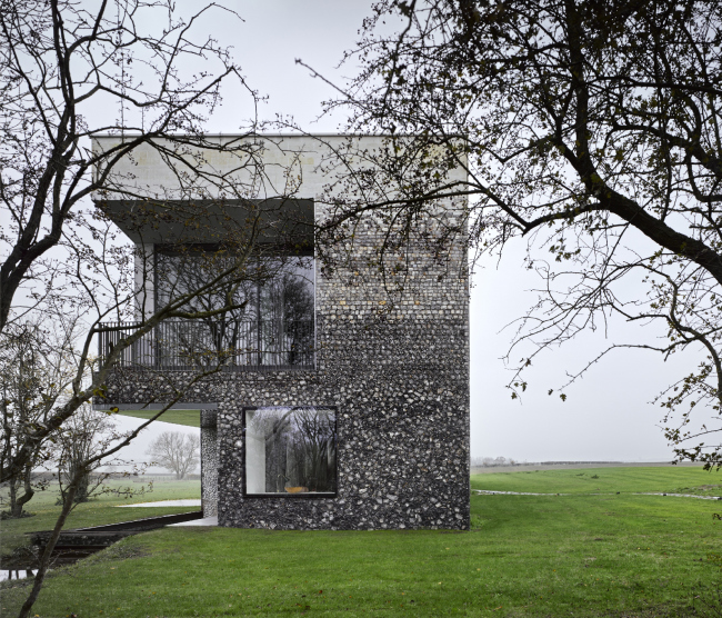Частный дом Flint House © James Morris