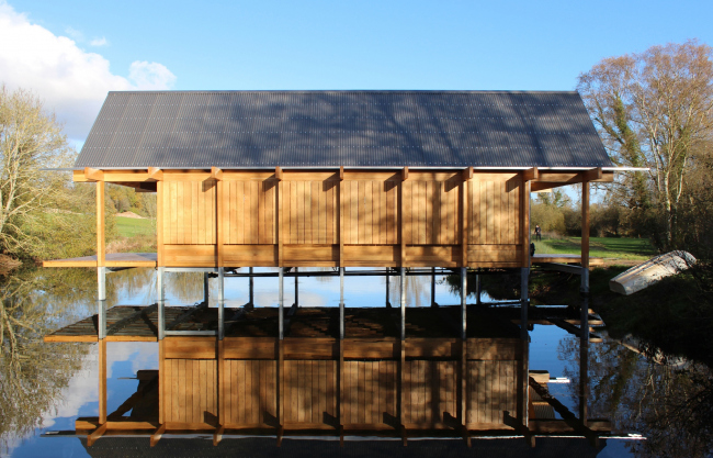 Рыбацкая хижина в Хэмпшире © Niall Mclaughlin Architects