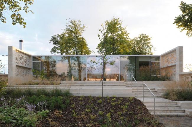 Медицинский центр Maggie's в Ланаркшире © David Grandorge, broad daylight ltd