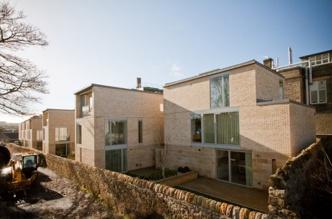 Жилой район West Burn Lane © Sutherland Hussey Harris Architects