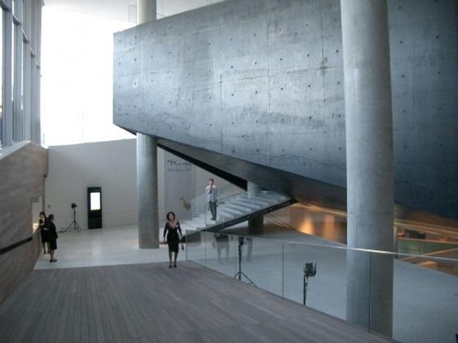 Leeum Museum в Сеуле, фрагмент интерьера © OMA