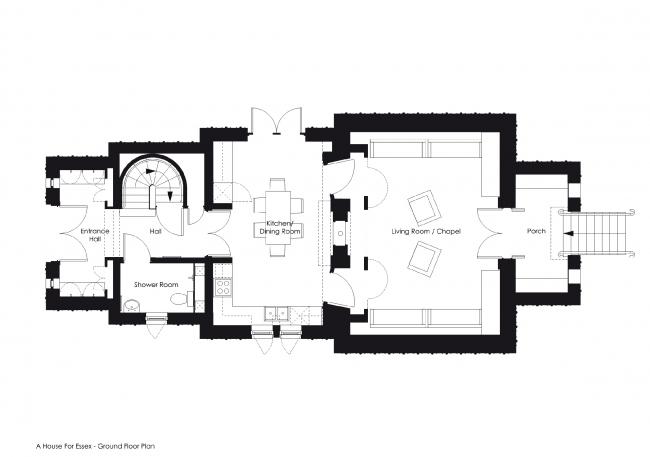 Вилла «Дом для Эссекса» © FAT Architecture. Источник: www.ribaj.com