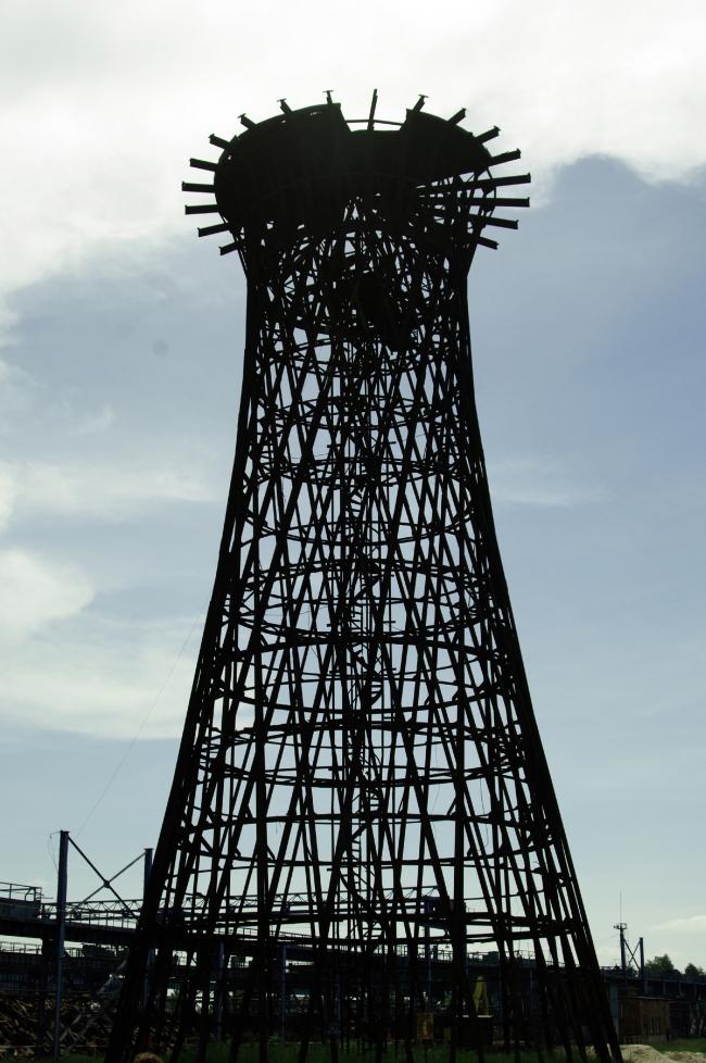 Шуховская водонапорная башня на территории выксунского металлургического завода © Дмитрий Павликов