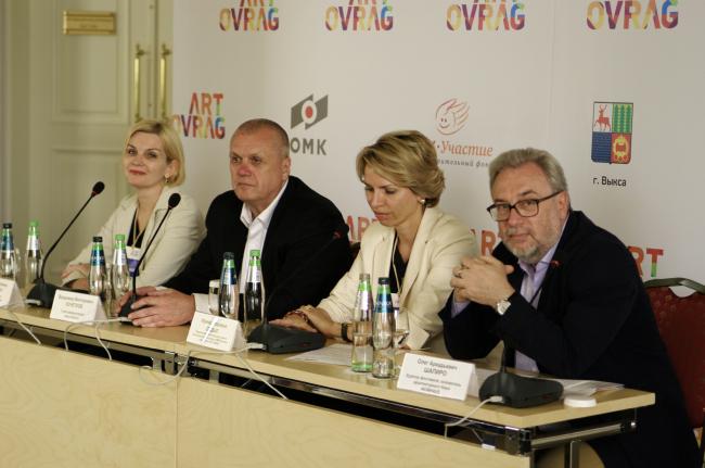 Пресс-конференция в гостинице «Баташёв» © Дмитрий Павликов